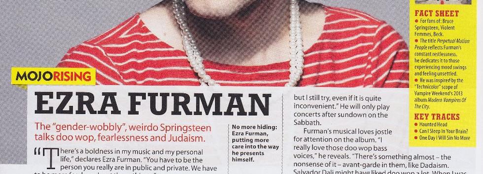Ezra Furman, Perpetual Motion People interview, MOJO