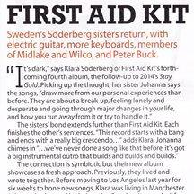 First Aid Kit, Ruins, MOJO 288, November