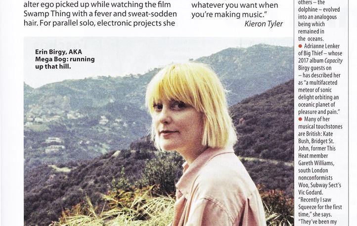 Mega Bog, Dolphine interview, MOJO