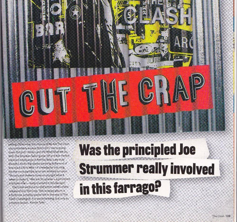 The Clash,  Cut The Crap, MOJO