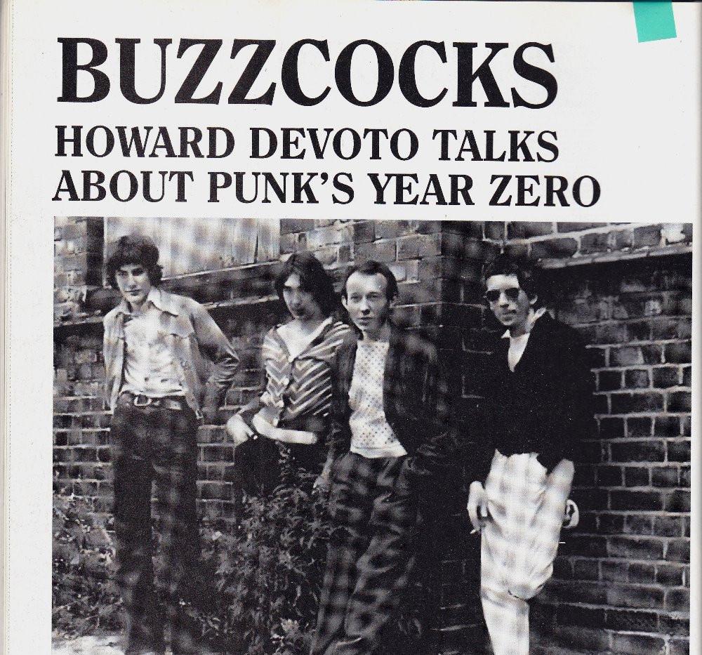Buzzcocks, Howard Devoto interview and retrospective, Record Collector
