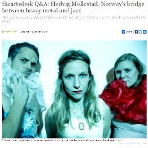 Hedvig Mollestad interview The Arts Desk