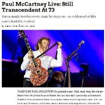 Paul McCartney, Roskilde Festival 2015,