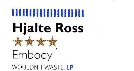 Hjalte Ross, Embody, MOJO