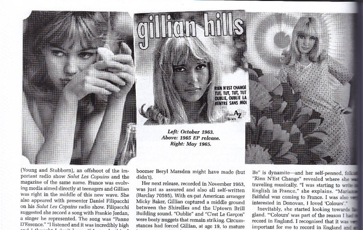Gillian Hills interview, Ugly Things