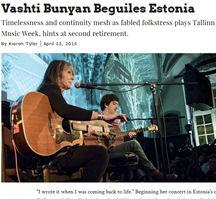 Vashti Bunyan, Tallinn Music Week 2015,
