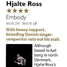 Hjalte Ross, Embody. MOJO 302, January 2