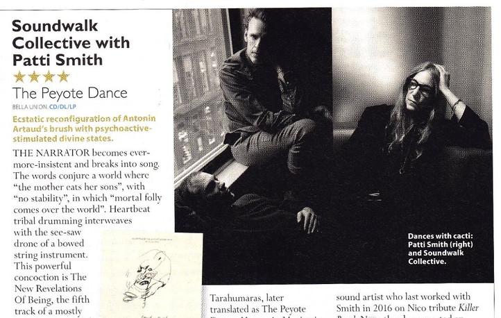 Soundwalk Collective with Patti Smith, The Peyote Dance, MOJO