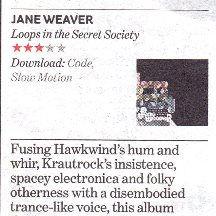 Jane Weaver, Loops in the Secret Society