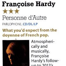 Francoise Hardy Personne D'Autre, MOJO 2