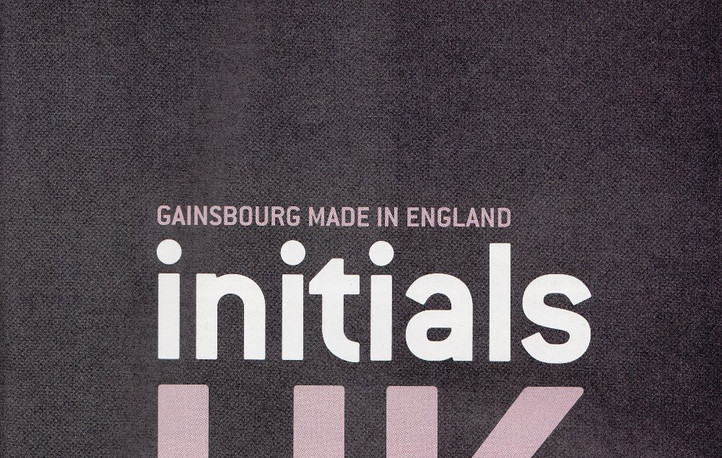 Serge Gainsbourg, Made In England Initials UK, Les Inrockuptibles
