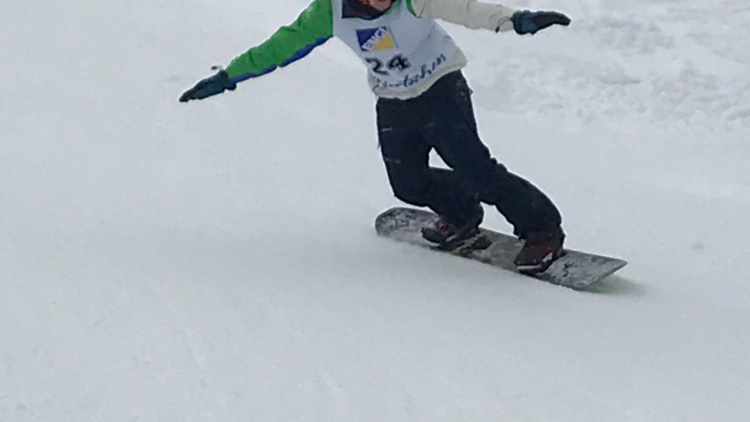 Snowboardrennen