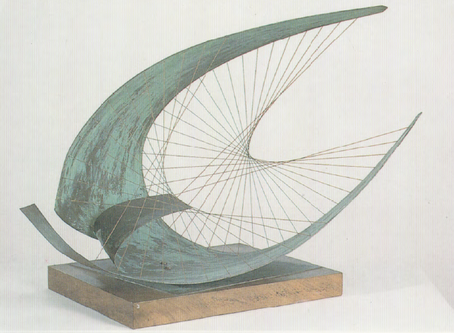 Mittelstufe: Fadenskulptur