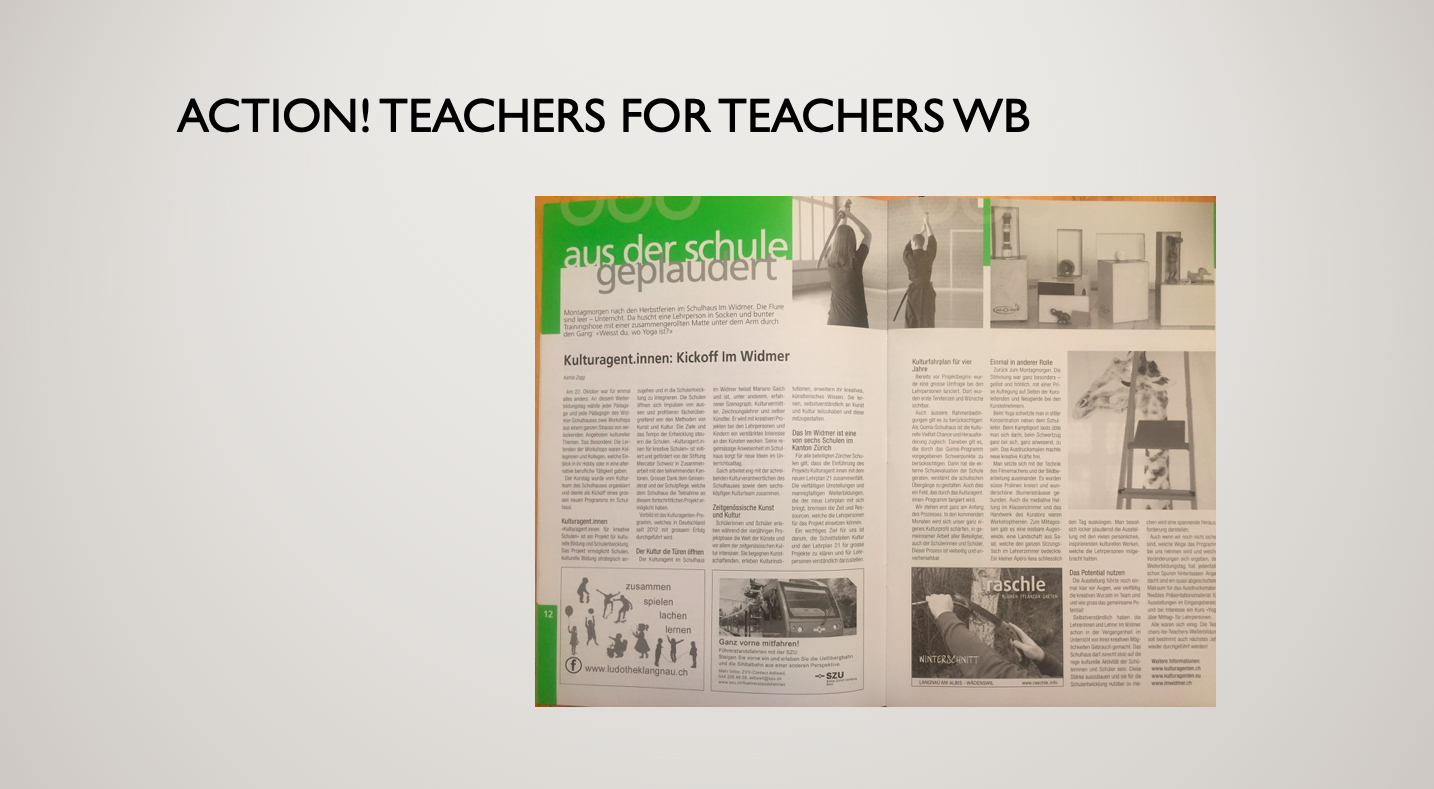 Teachers for Teachers