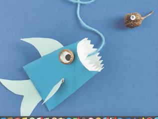 Kindergarten: Dieser Hai sperrt seinen Mund weiiiiit auf