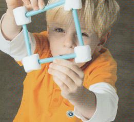 Unterstufe: Bauen mit Marshmallows