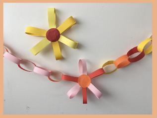 Kindergarten: Verschönere dein Zimmer mit einer Girlande