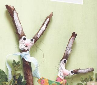 Kindergarten: Kurlige Hasenkerle
