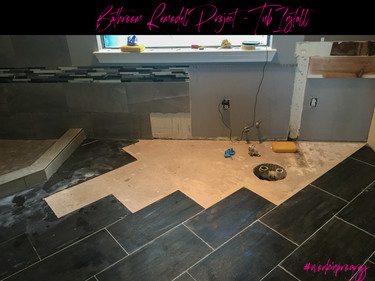 Master Bathroom Remodel Project