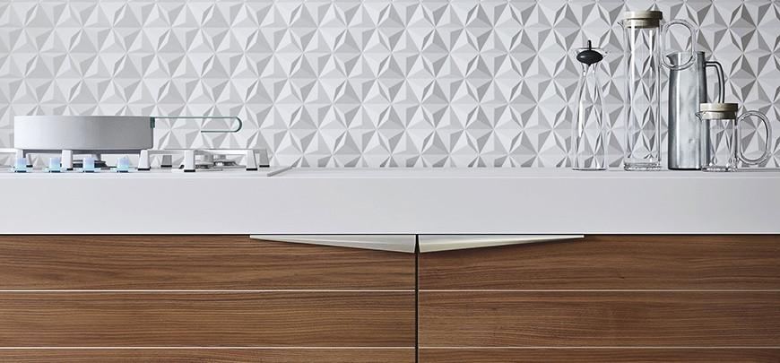 Kitchen handles by SNAIDERO USA