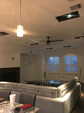 Square Recessed Lighting Install