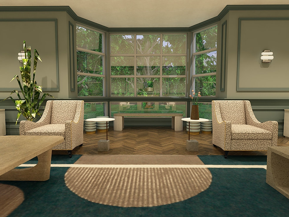 Living Room - Concrete blocks view-Big .