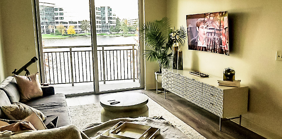 Modern and Contemporary Living Room_Gray