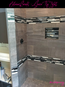 Modern, Contemporary and Sleek Shower for Master Bathroom