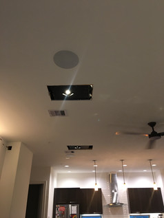 Square Recessed Lighting Install (Close-Up View)