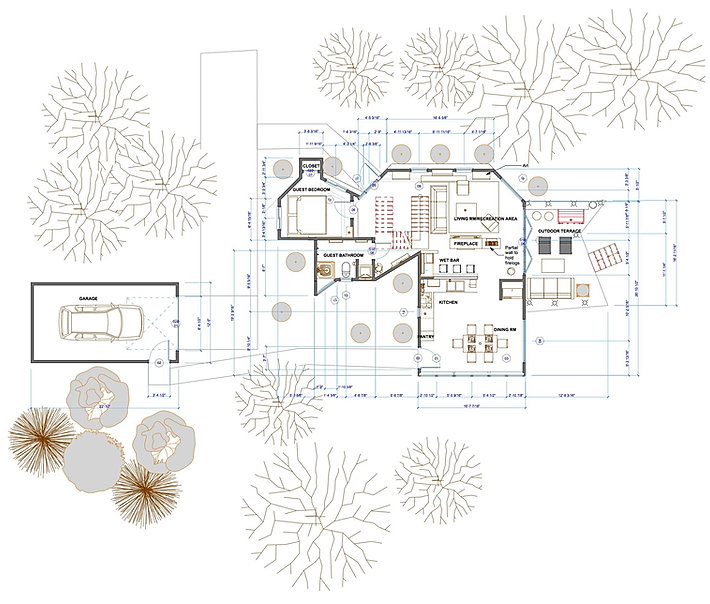 Whole Home Floor Plan with Dimensions an