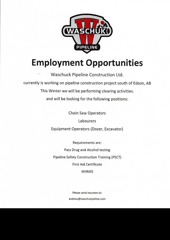 Waschuk Employment Opportunity.jpeg