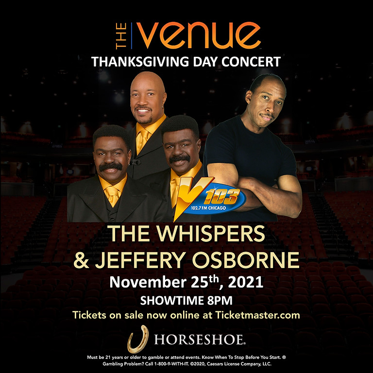 AN EVENING WITH THE WHISPERS & JEFFERY OSBORNE
