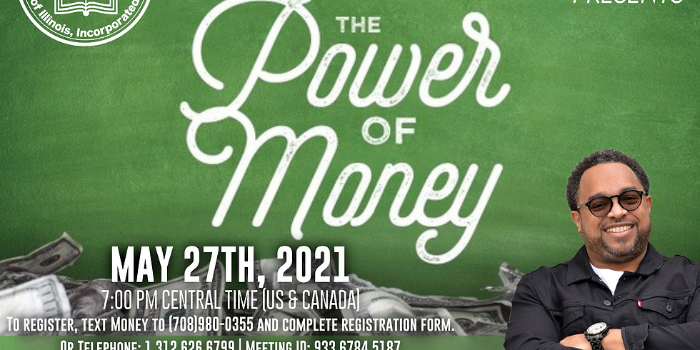 """UBSC Congress of  Christian Education Presents """"The Power of Money"""""""