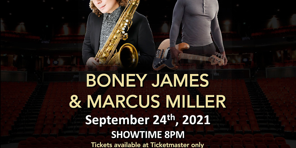 HOT SUMMER JAZZ AND FUNK WITH BONEY JAMES & MARCUS MILLER