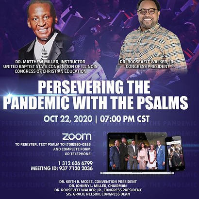 Preserving the Pandemic with the Psalms.