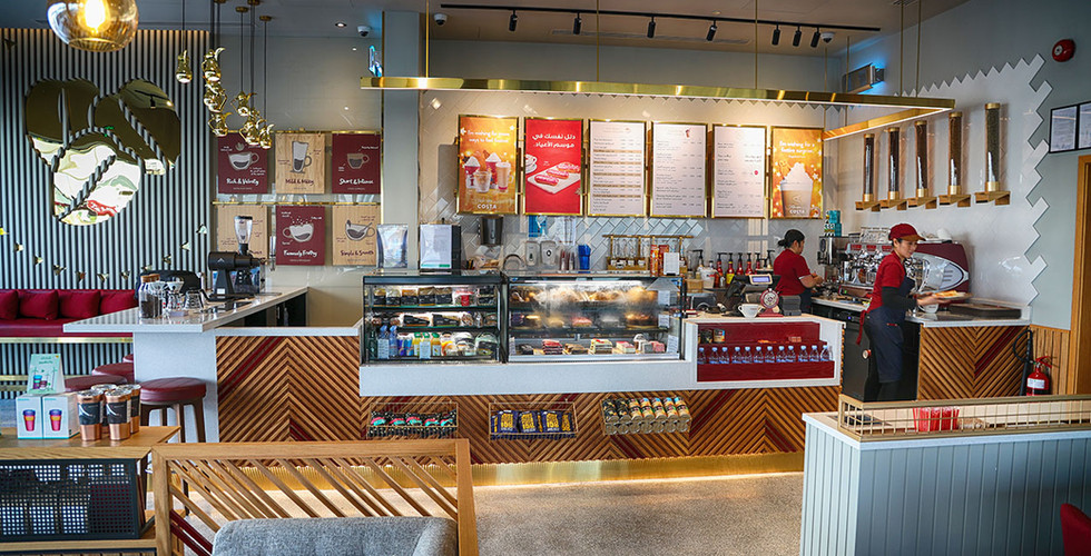 costa coffee 30 mall