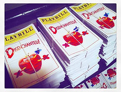 OFF BROADWAY PLAYBILL