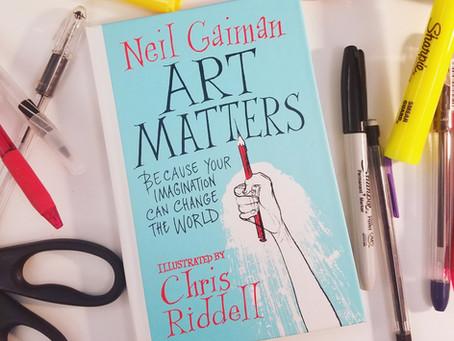Art Matters – Book Review