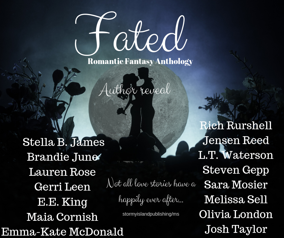 Brandie June Romantic Fantasy Anthology Fated