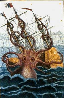 Brandie June blogs about mythological sea creatures, include the kraken, selkie, bunyip, and kelpie.