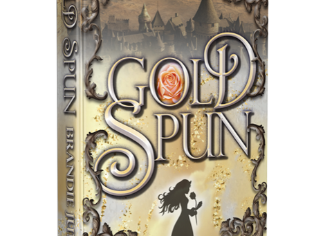 School Library Journal Review Of Gold Spun