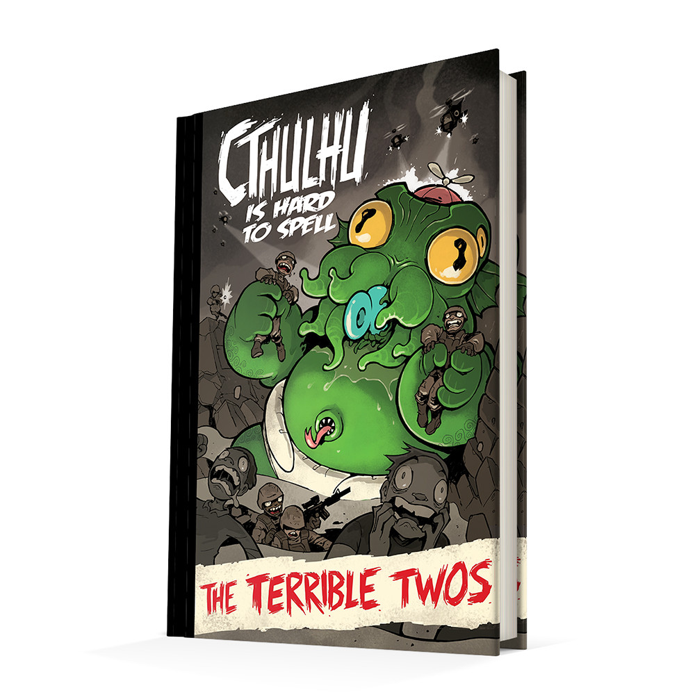 Cthulhu Is Hard To Spell Graphic Novel Anthology