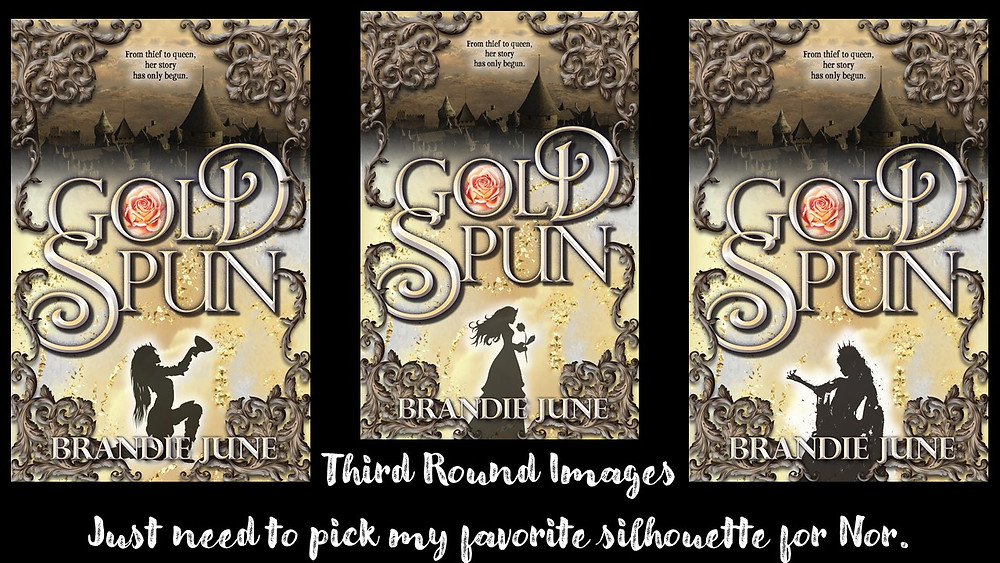 Third Round of Gold Spun Covers by Brandie June