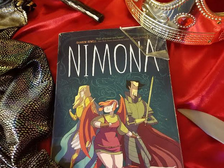 Nimona - Book Review