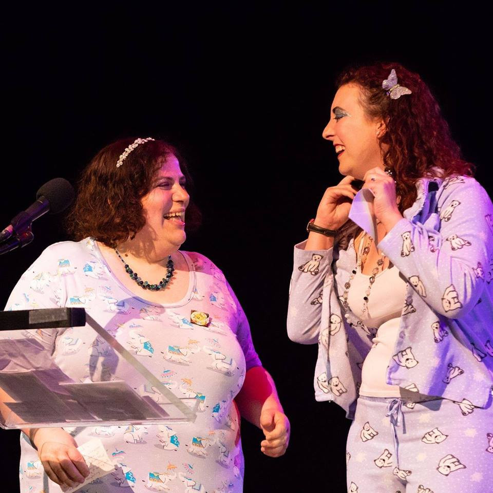 Playwrights and author Brandie June and Emily Donn are theatre judges at Hollywood Fringe Festival