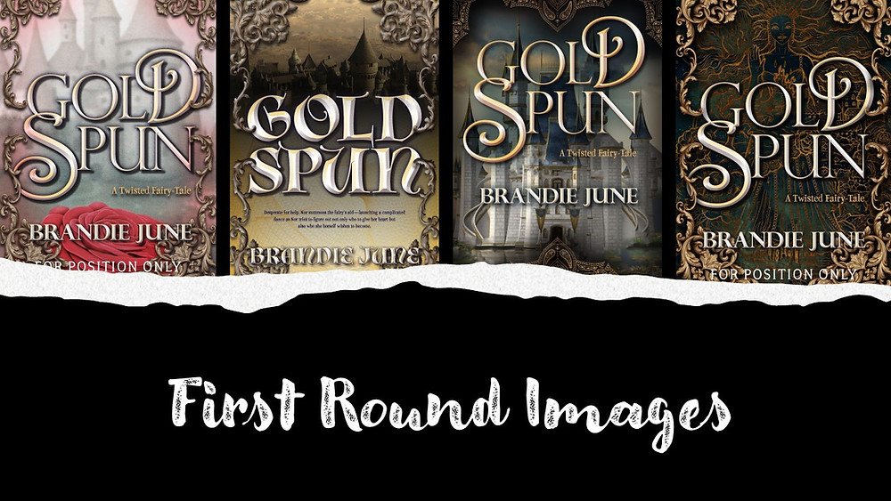 First Round of Gold Spun Covers by Brandie June