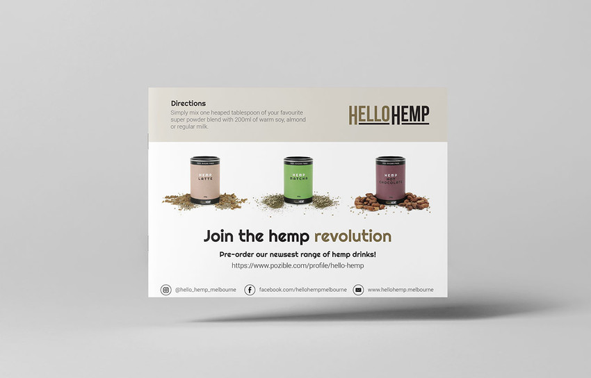 Hello Hemp Brochure