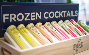 Pops frozen cocktails product photography by Melbourne digital marketing agency Haines Media