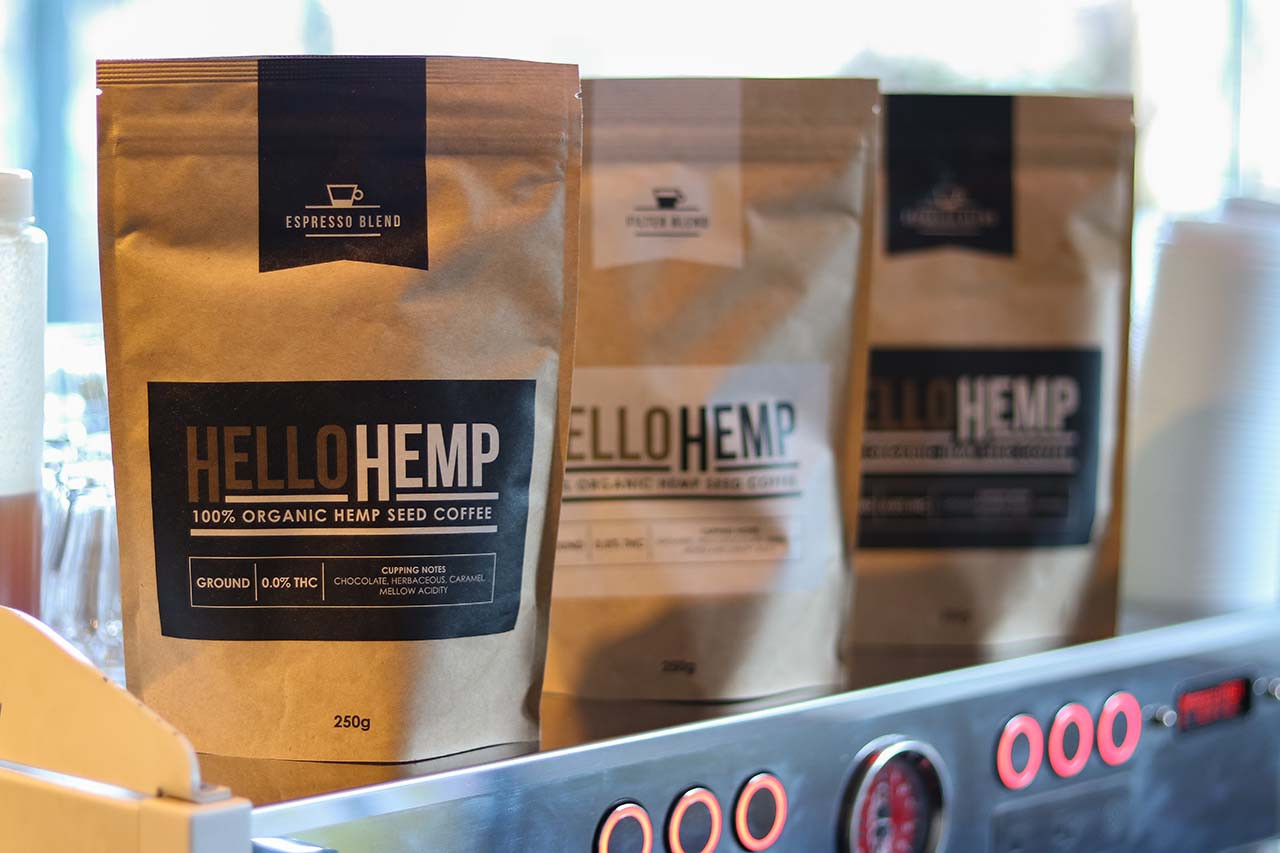 Hello Hemp Coffee