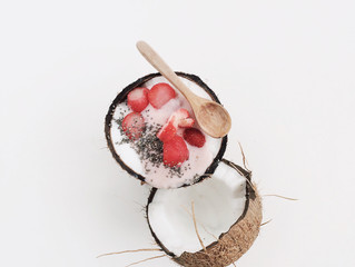Strawberry & Coconut Face Mask